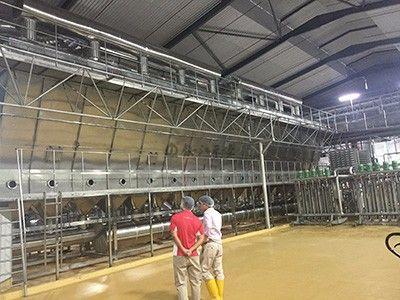 最新氯化钙喷雾造粒流化床机,通过山东寿光某化工公司验收
